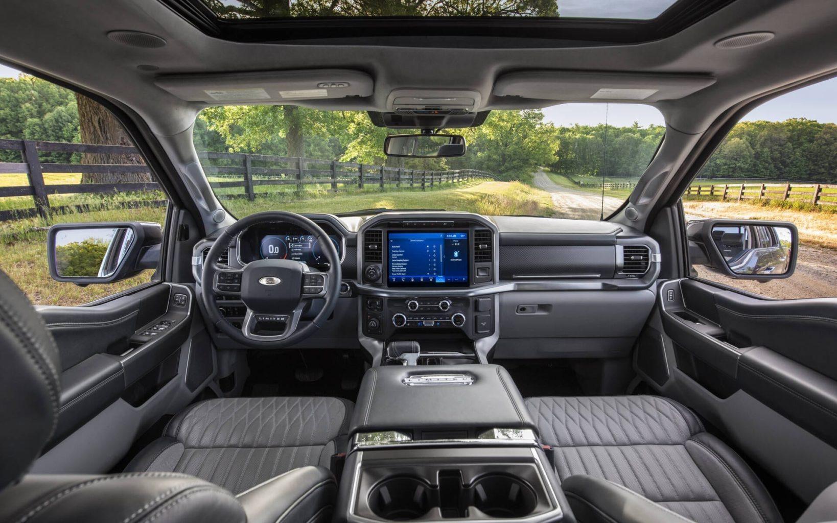 Ford F-150 intérieur