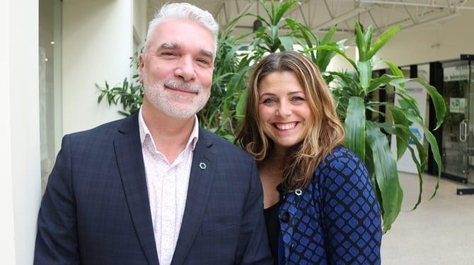 Simon Dery et Marie-Eve Tremblay