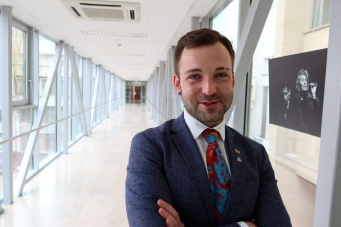 Le député Tomas Vytautas Raskevicius