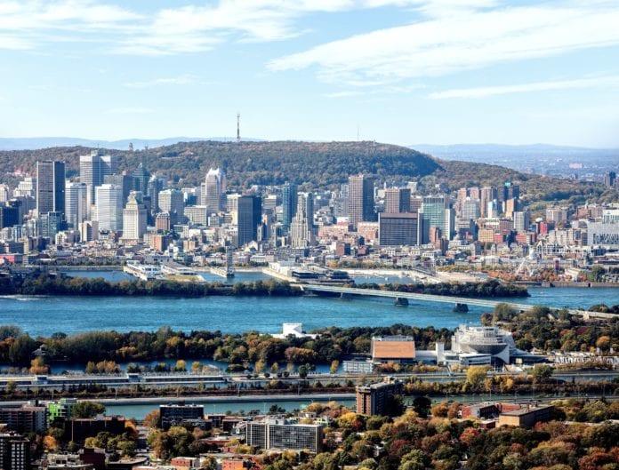 ©Photo Hélico Inc - Tourisme Montréal (Groupe CNW/Palais des congrès de Montréal)