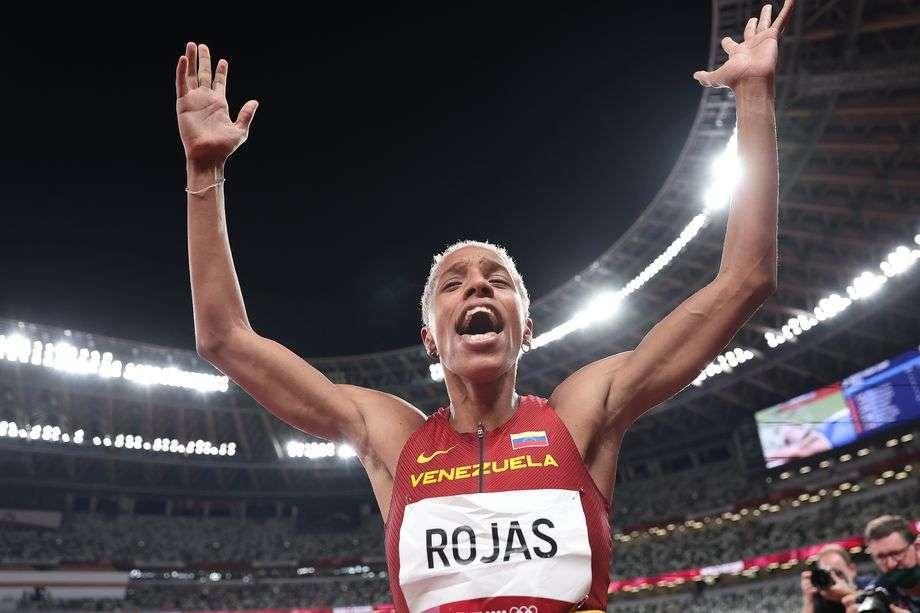 Yulimar Rojas Photo de Christian Petersen/Getty Images